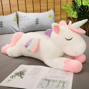 plush unicorn not expensive 100cm white not dear
