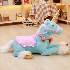 plush unicorn realistic fluff unicorn