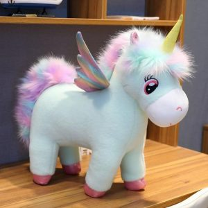 plush unicorn standing 65cm price