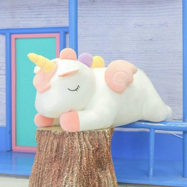 plush unicorn white 80cm