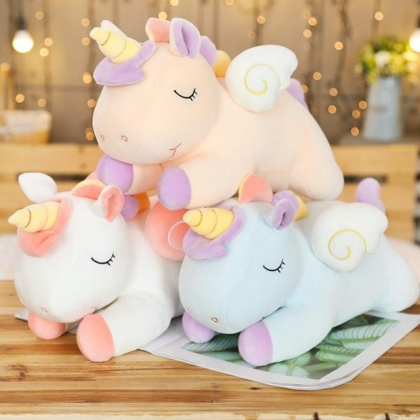 plush unicorn white 80cm at sell