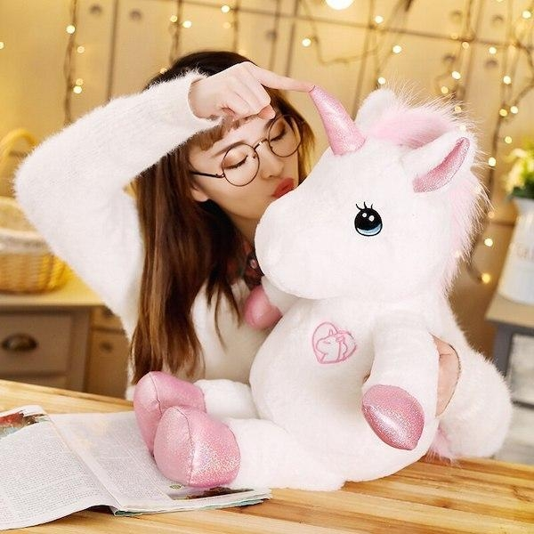 plush unicorn xxl 80 cm unicorn stuffed animals