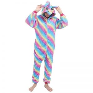 pyjamas unicorn adult colorful mr 158 168cm
