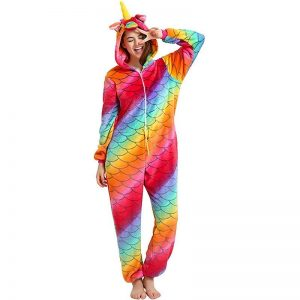 pyjamas unicorn adult polar xl 180 190cm disguise unicorn