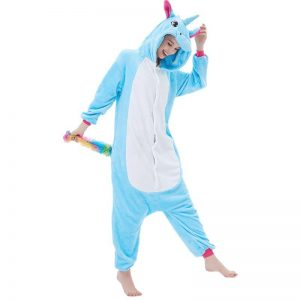 pyjamas unicorn women blue xl 180 190cm unicorn stuffed animals