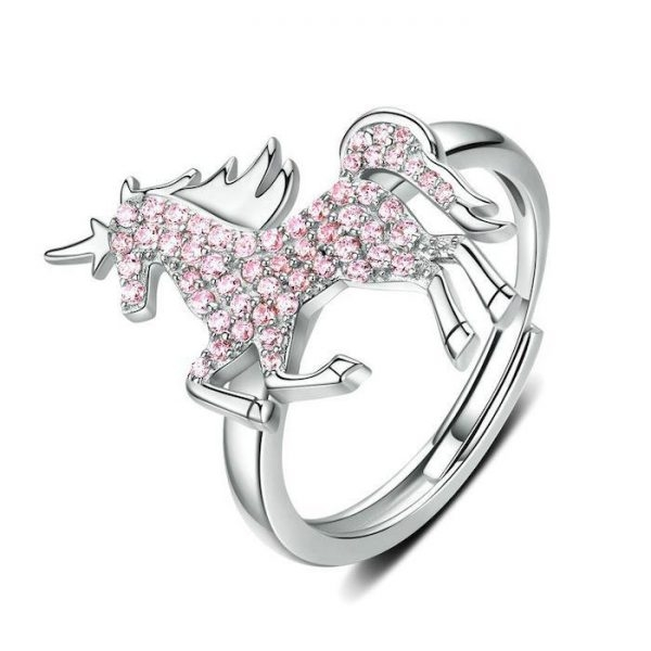 ring unicorn diamond