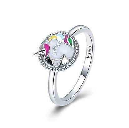 ring unicorn multicolored money 8 to sell