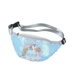 satchel banana unicorn blue child at sell