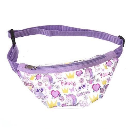 satchel banana unicorn transparent purple child at sell