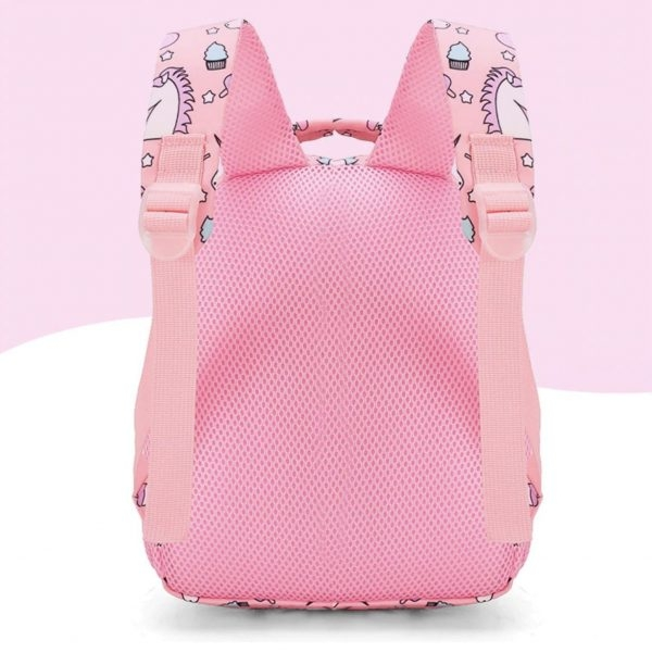 school bag unicorn pink emoji not dear