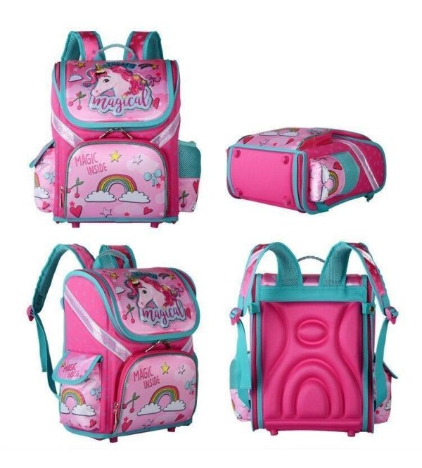 schoolbag pink unicorn magic price