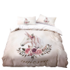 set of bed unicorn 2 persons 220x240cm