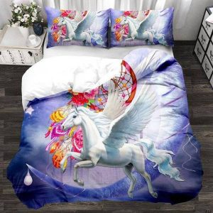 set of bed unicorn angelic 240x220cm buy