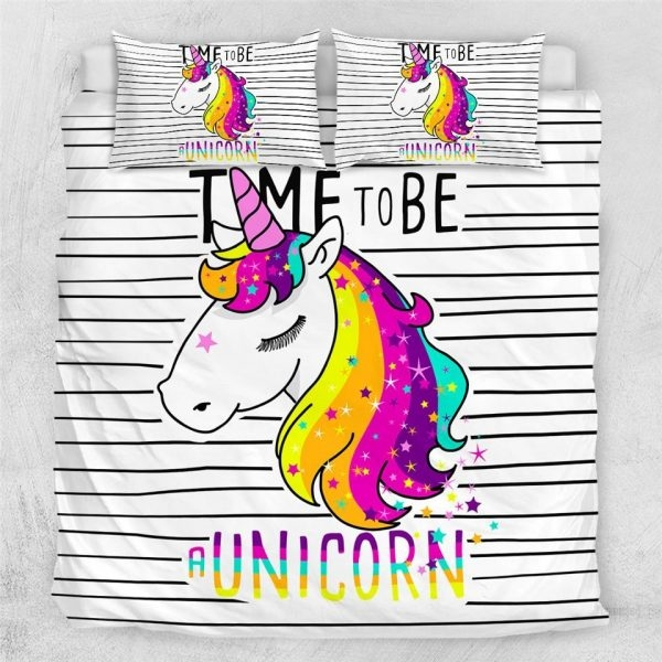 set of bed unicorn at scratches 220x240cm buy