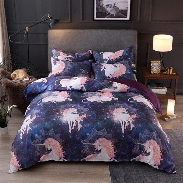 set of bed unicorn dream 230x260cm buy
