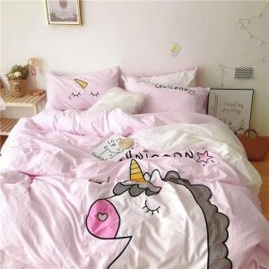 set of bed unicorn dream fantastic 220x240cm buy