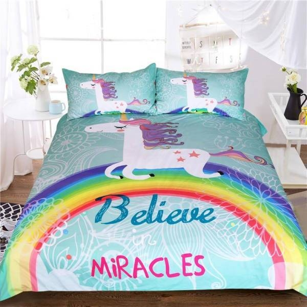 set of bed unicorn miracles 220x240cm not dear
