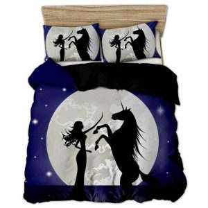 set of bed unicorn moon 220x240cm not dear