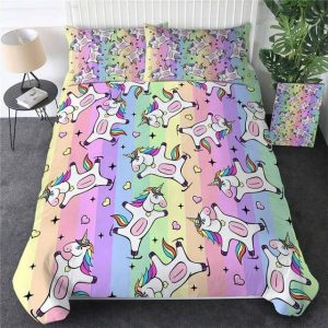 set of bed unicorn night 220x240cm not dear