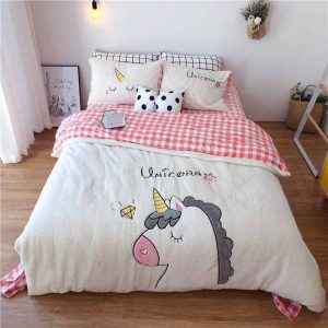 set of bed unicorn polar 220x240cm