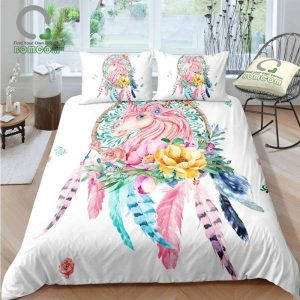 set of bed unicorn sensor dreams 260x220 cm at sell