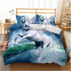 set of bed unicorn sky 260x220cm at sell