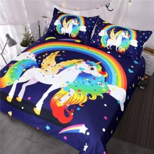 set of bed unicorn sleep deep 220x240cm