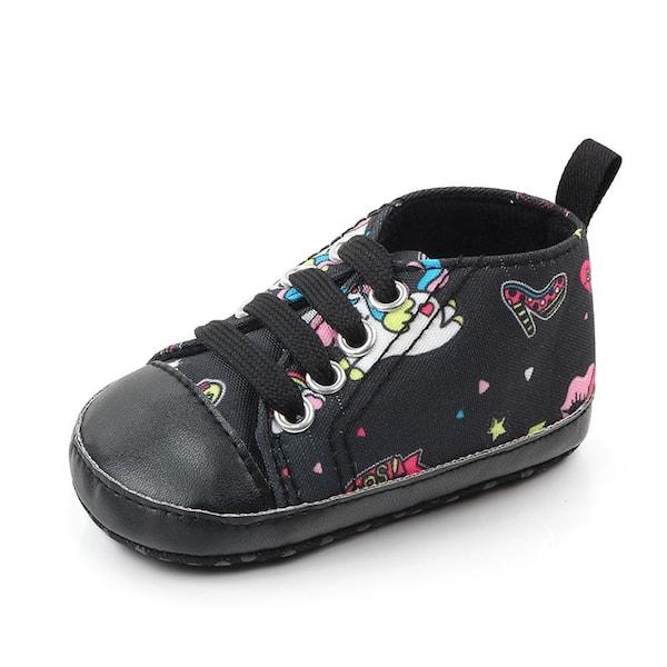 shoe unicorn black for baby 13 18 months not dear