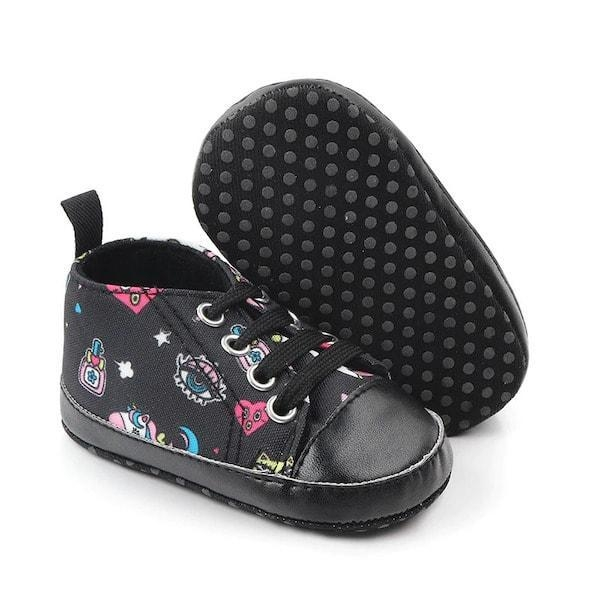 shoe unicorn black for baby 13 18 months