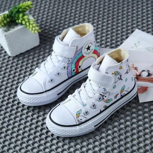 shoes rising unicorn kawaii girl baby black 35 foot 22 5cm shoes and covers heads
