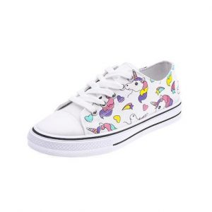 shoes unicorn kawaii multicolored child women black 38 foot 24cm not dear