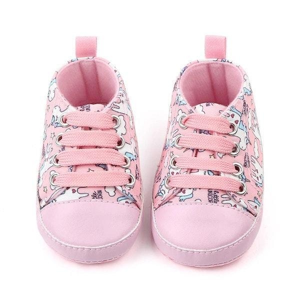 shoes unicorn pink for baby 13 18 months not dear