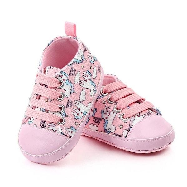 shoes unicorn pink for baby 13 18 months