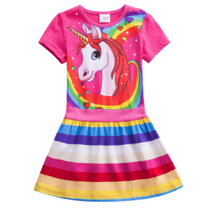 skirt unicorn multicolored kawaii 8 years 145cm not dear