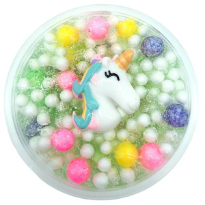 slime unicorn multicolored kawaii girl not dear