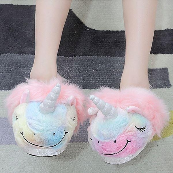 slipper unicorn cotton bow in sky 39 shoes and covers chefs