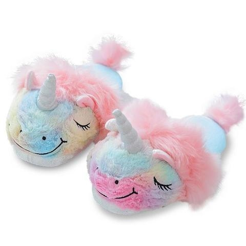 slipper unicorn gift multicolored 39 to sell