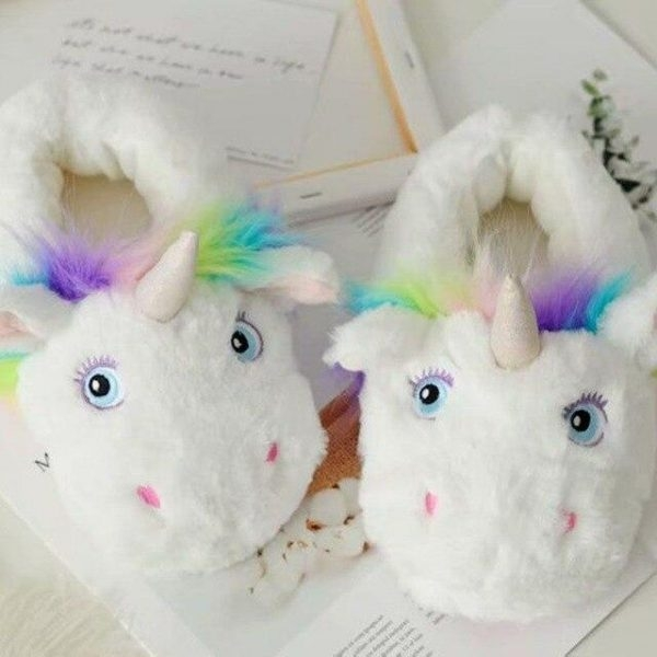 slipper unicorn horn magical 39