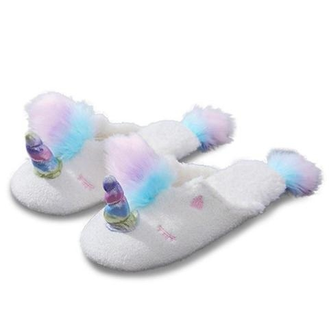 slipper unicorn interior magic 39 40 shoes and covers chefs