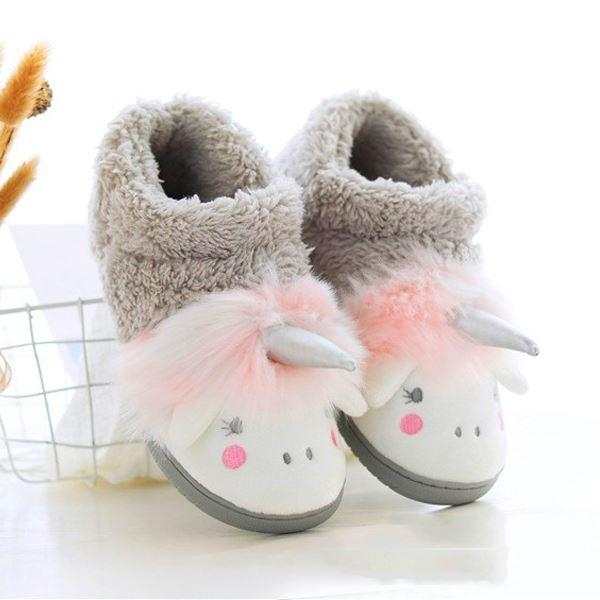 slipper unicorn slipper grey 38 39 no dear