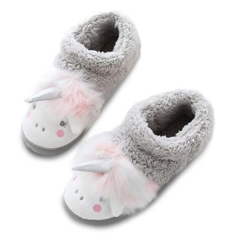 slipper unicorn slipper grey 38 39 shoes and covers chefs