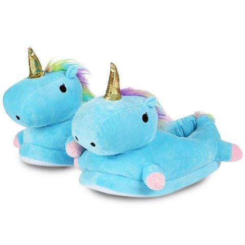 slippers unicorn blue sky adult 42 shoes and covers chefs