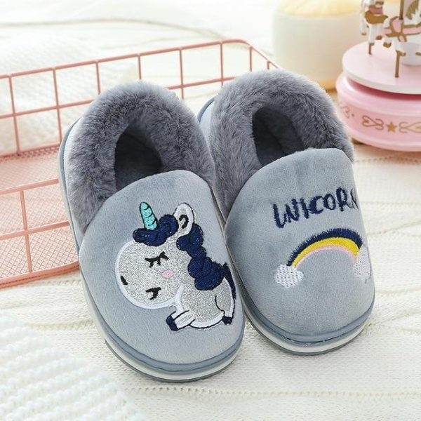 slippers unicorn cartoon baby 33 to sell