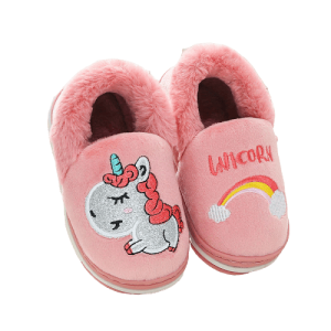 slippers unicorn happiness red 33