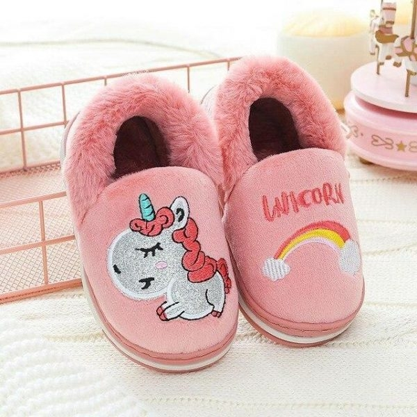 slippers unicorn happiness red 33 to sell