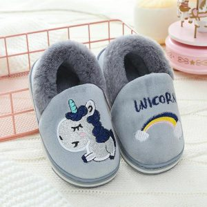 slippers unicorn kawaii flexible grey 33 unicorn stuffed animals