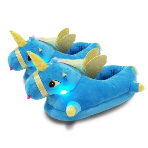 slippers unicorn magical led 42 no dear