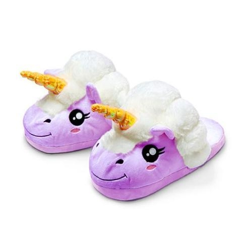 slippers unicorn purple magical 42 to sell