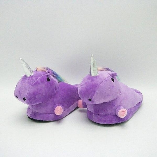 slippers unicorn slipper purple 42 price