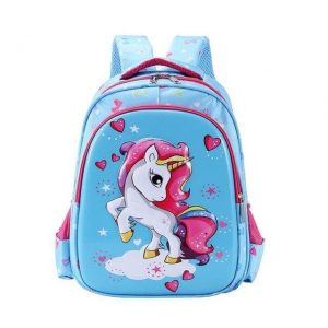 small backpack unicorn kawaii blue buy